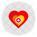 Heart Man Pain Icon