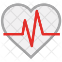 Heart Pulse Pulsation Icon