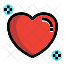 Heart Love Health Care Icon