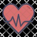 Heart Activity Fitness Icon