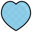Heart Blue Dating Icon