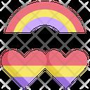 Homosexual Pride Heart Icon