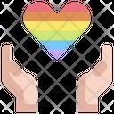 Heart Lgbt Homosexual Icon