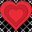 Love Like Valentine Heart Icon