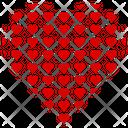 Valentine Heart Heart Heart Shape Icon