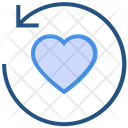 Heart Valentines Day Sync Icon