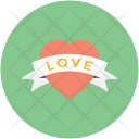 Heart Badge Love Icon