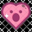 Emoji Heart Face Icon