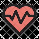 Heart Medical Hospital Icon