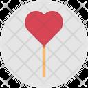 Heart Heart Lollipop Lolly Icon