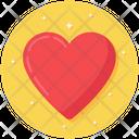 Heart Favourite Love Symbol Icon