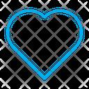 Heart Shape Shape Icon