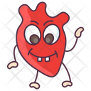 Heart Human Organ Body Anatomy Icon