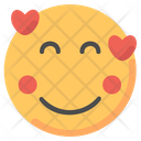 Heart Love Emoji Icon