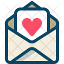 Heart Love Mail Icon
