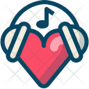 Heart Love Music Icon