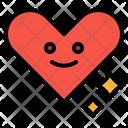 Heart Smile Impression Icon