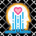 Heart Brain Work Icon