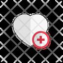 Heart Life Health Icon