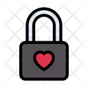 Heart Love Lock Icon