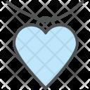 Heart Pendant Jewelry Icon