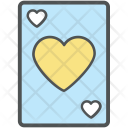 Heart Card Ace Icon