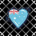 Heart Love Patriotism Icon