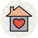 Heart House Favourite Icon