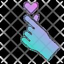 Heart Mini Hand Icon