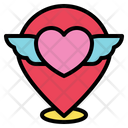 Heart Love Location Icon