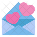 Heart Love Letter Icon