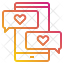 Heart Love Chat Icon