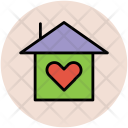 Heart On Home Icon
