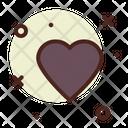 Heart Casino Game Icon