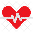 Heart Health Life Icon