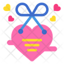 Heart Card Letter Love And Romance Icon