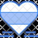 Heart Love Flag Icon