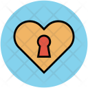 Heart Ribbon Valentine Icon