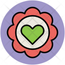 Heart Greeting Decoration Icon
