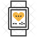 Heart Rate Watch Icon