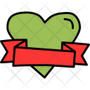 Heart Gift Wrap Icon