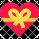 Heart Bow Love Icon