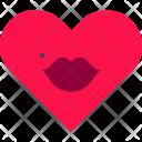 Heart Lips Love Icon