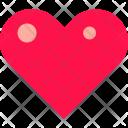 Heart Highlights Love Icon