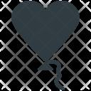 Heart Balloon Valentine Icon