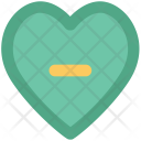 Heart Minus Symbol Icon