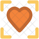 Heart Focus In Icon