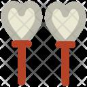 Heart Balloons Valentine Icon