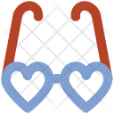 Heart Glasses Love Icon