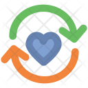Heart Reload Dating Icon
